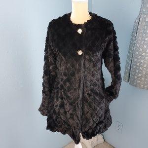 💥NWT Me Jane faux fur coat/jacket B85